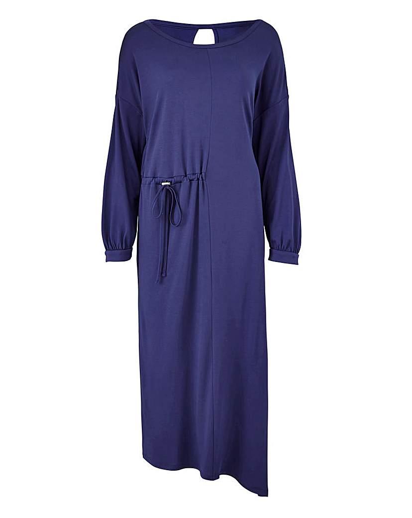 Simply Be Asymetric Draw Cord Dress