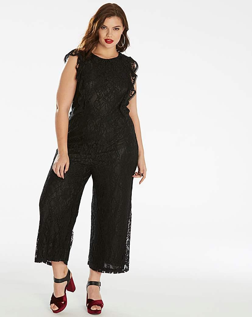 Fashion Union Fashion Union Lace Jumpsuit