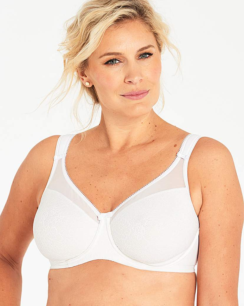 Image of Berlei Lace Wired Minimiser Bra