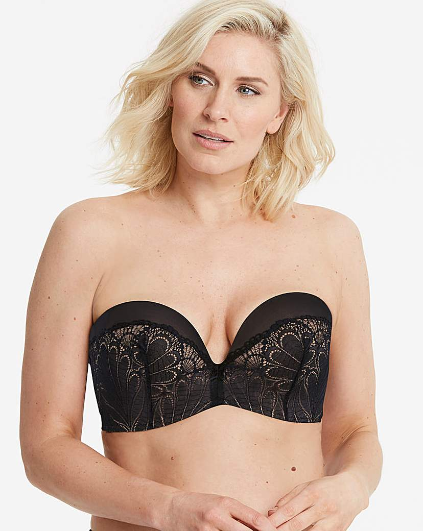 Image of Wonderbra Glamour Lace Black Strapless