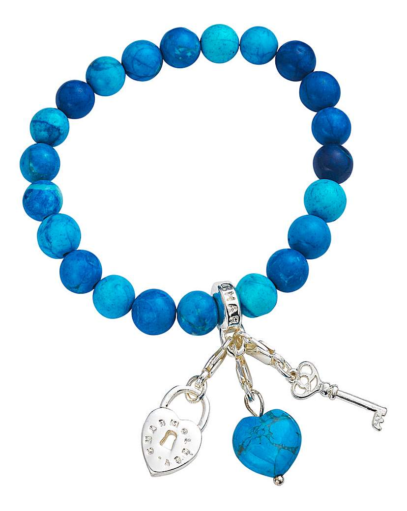 Charmology The Key to Peace Bracelet