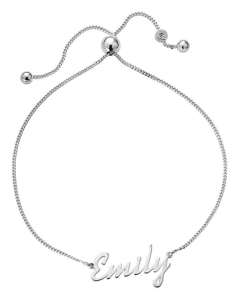 Sterling Silver Personalised Bracelet