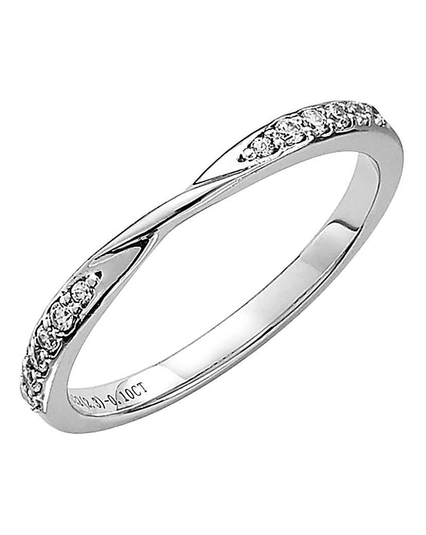 Image of 18 Carat Gold Phaedra Diamond Ring