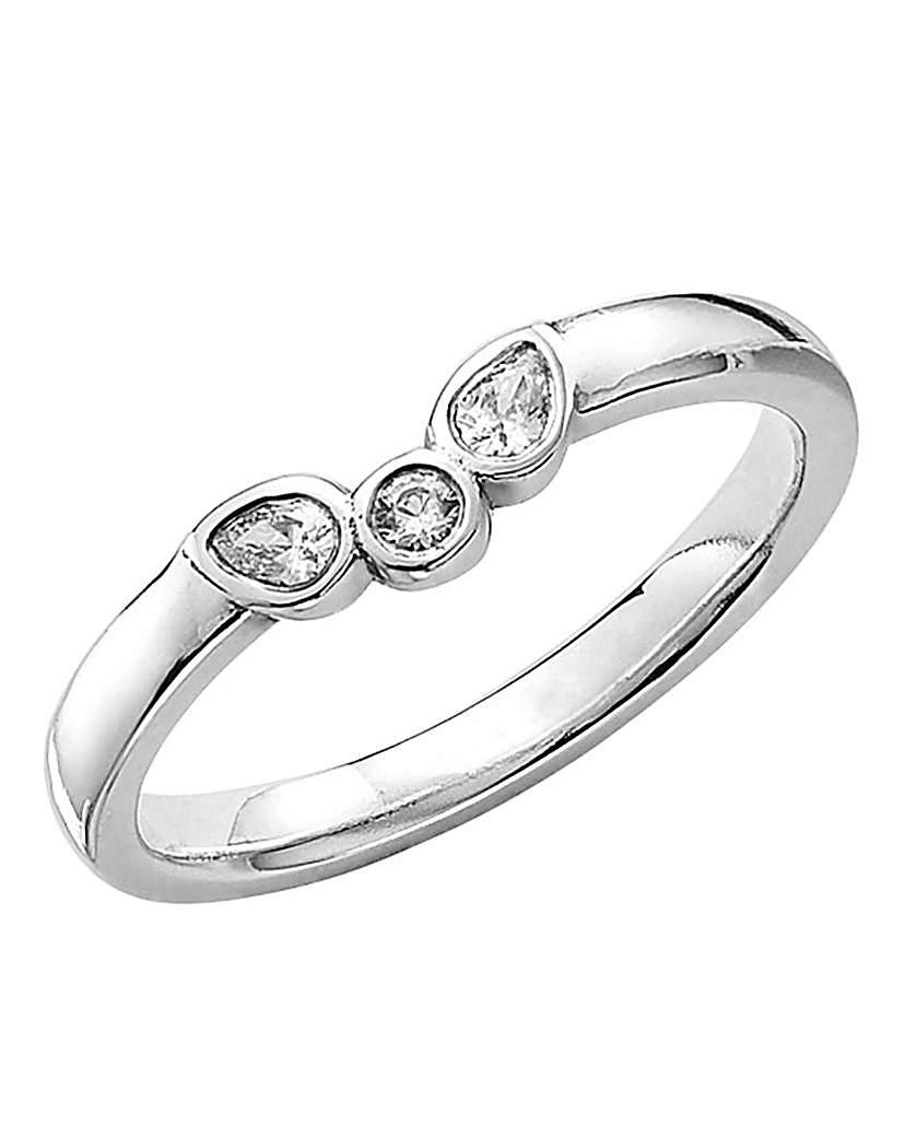 Image of 18 Carat Gold Claras Diamond Ring