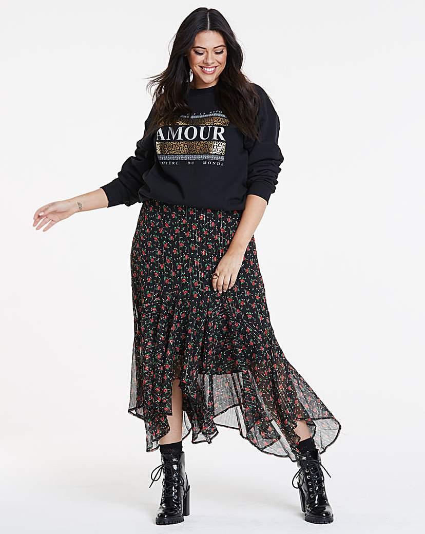 Joanna Hope Joanna Hope Ditsy Print Maxi Skirt