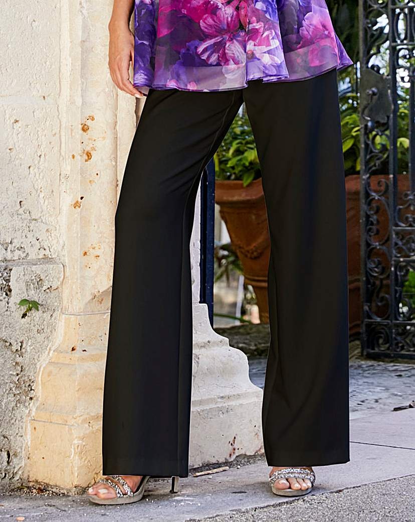 Did Women Wear Pants in the 1920s? Yes! sort of… Joanna Hope Wide Leg Trousers £30.00 AT vintagedancer.com
