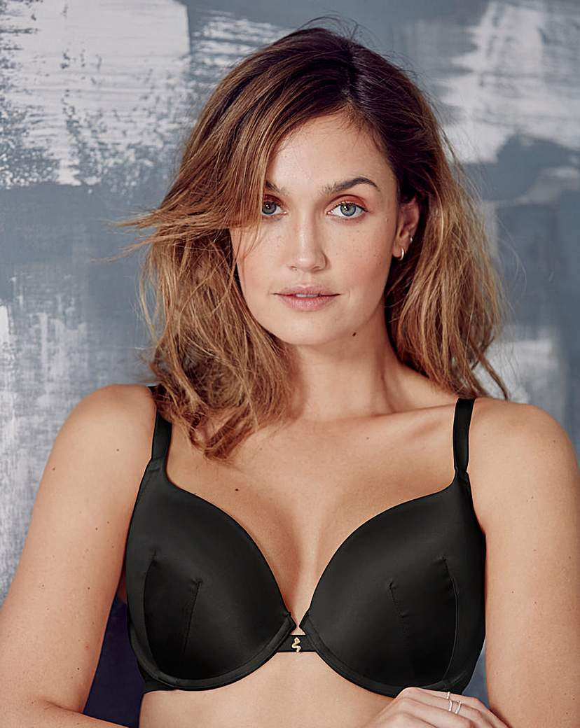 Image of Gossard Everyday Dotty Plunge Black Bra