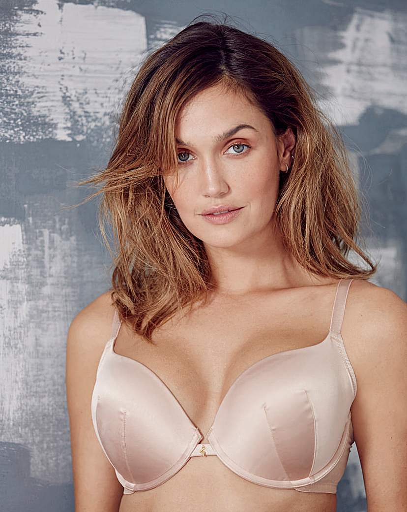 Image of Gossard Everyday Dotty Plunge Nude Bra