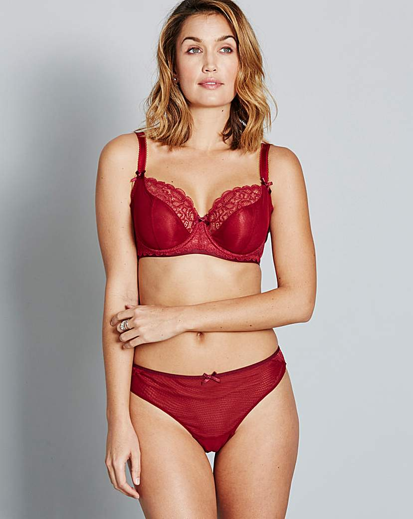 Image of Curvy Kate Ellace Crimson Balcony Bra