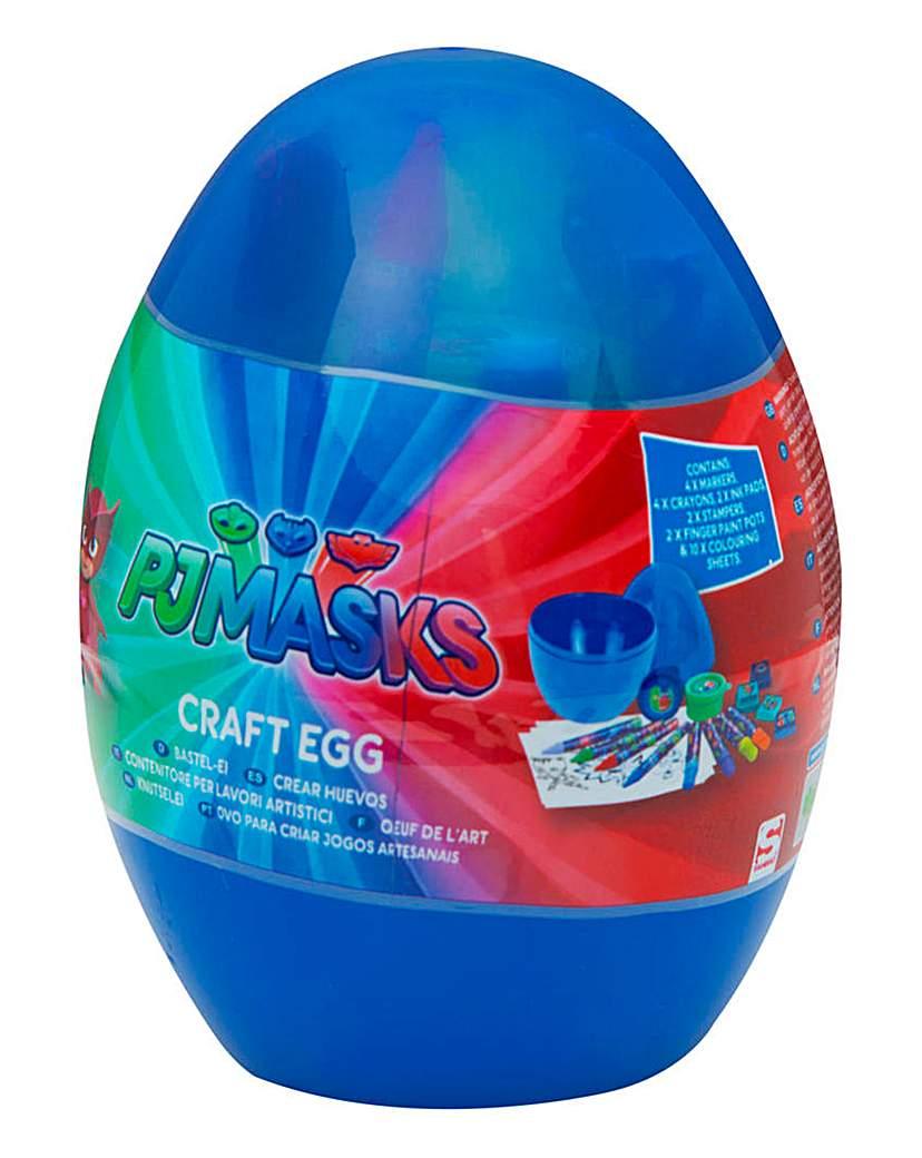 Image of PJ Masks Craft Egg