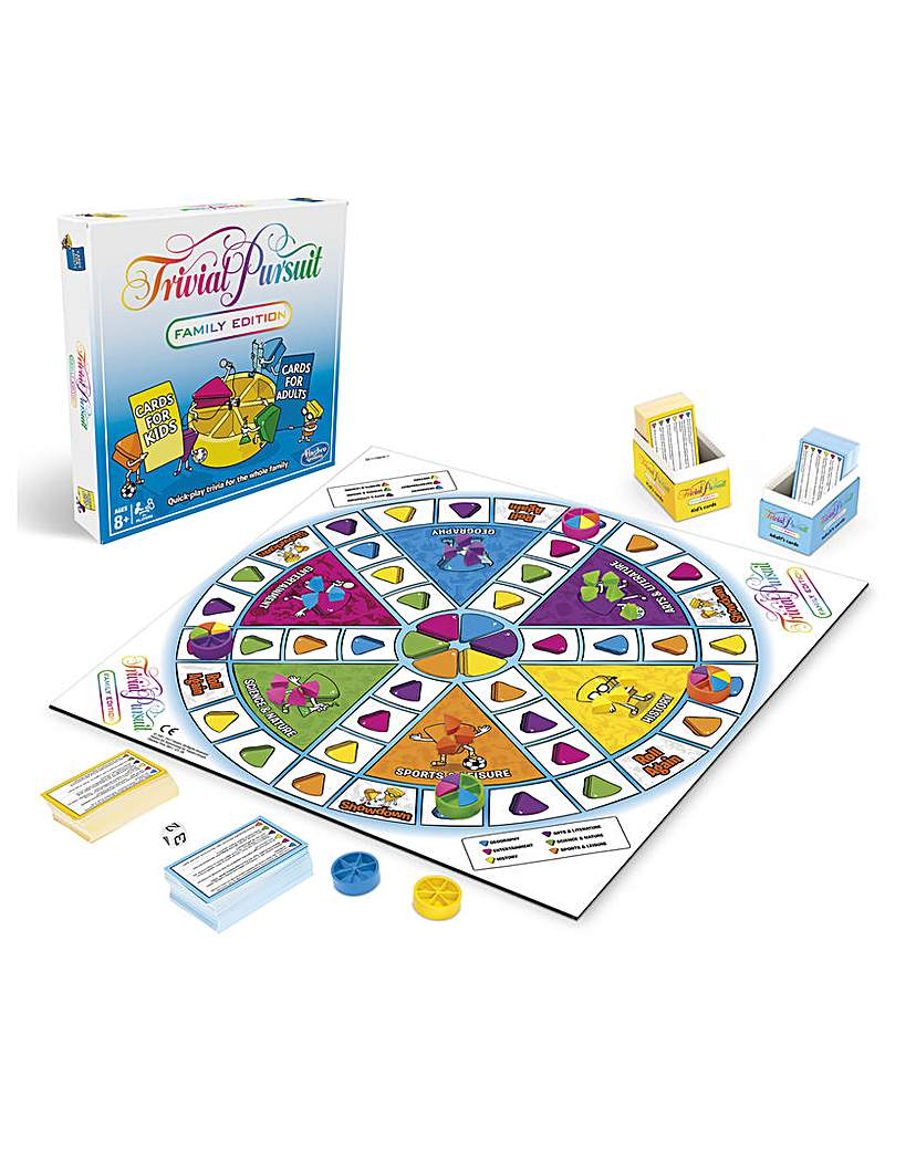 Image of Trivial Pursuit Family Edition