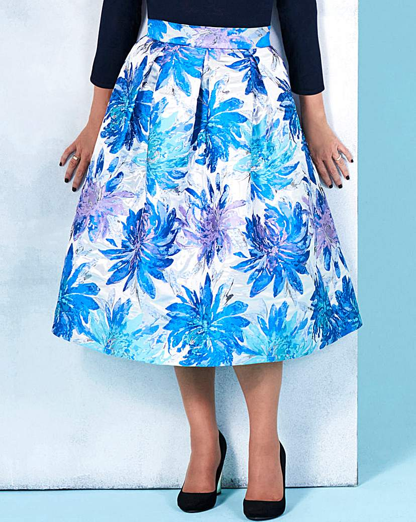 Lorraine Kelly Floral Prom Skirt
