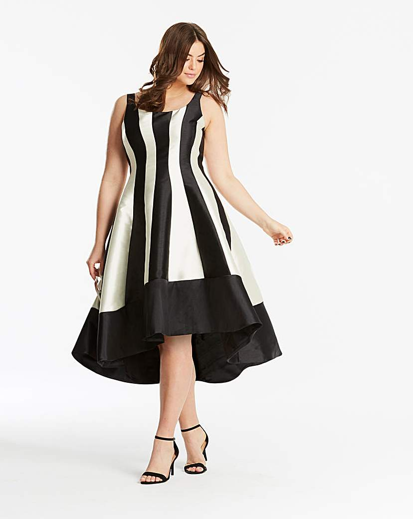 Coast Coast Aria Mono Dramatic Dress
