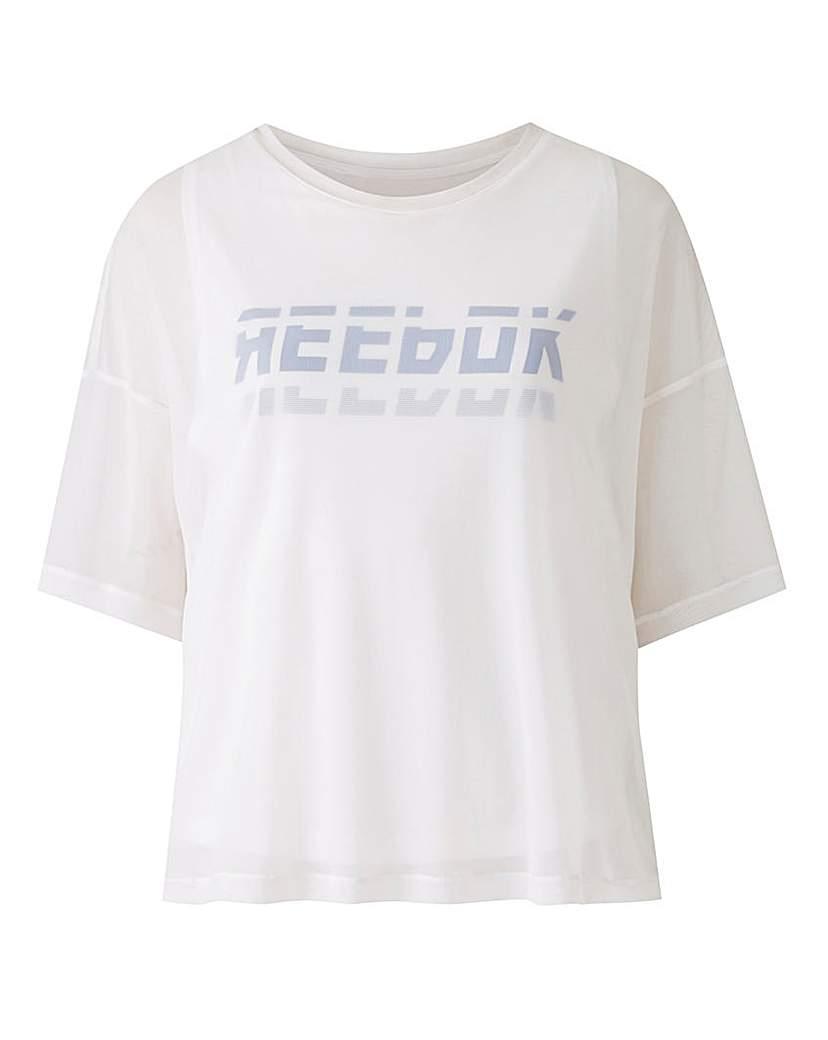 Reebok Reebok Workout Meet You There Mesh Top