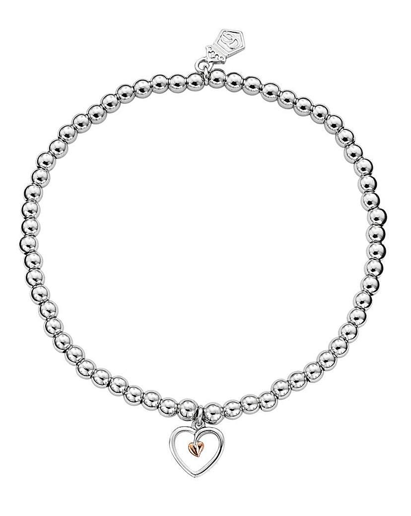 Clogau Clogau Tree of Life Heart Bead Bracelet