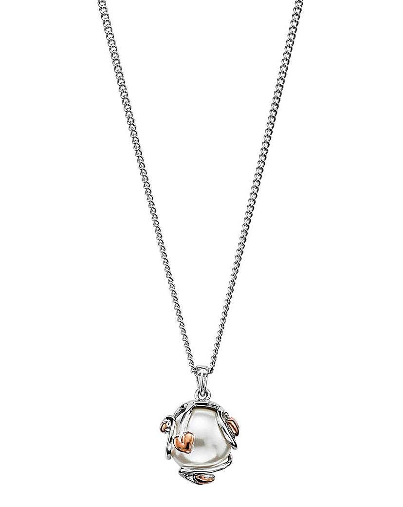 Clogau Clogau Tree of Life Caged Pearl Necklace
