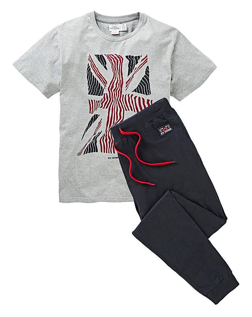Ben Sherman Union Jack PJ Set