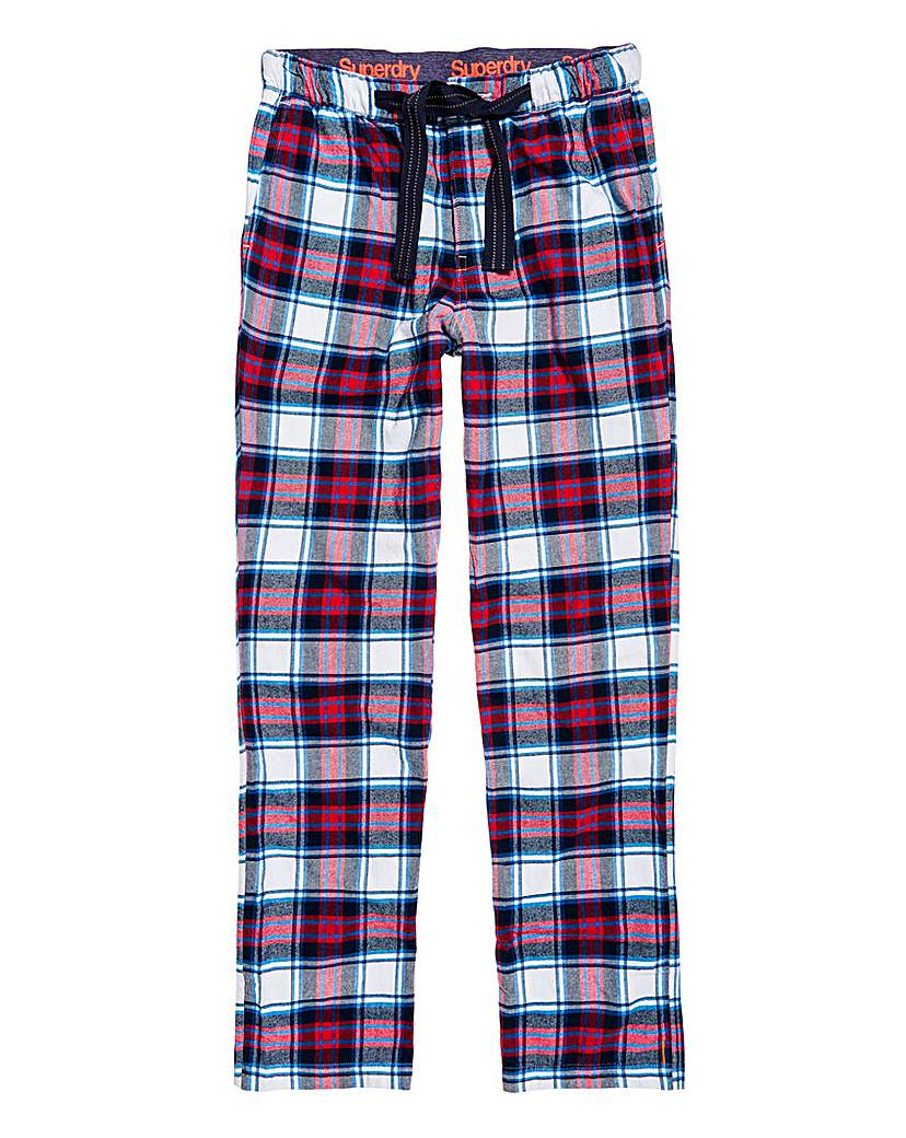 Superdry Check Woven Loungepants