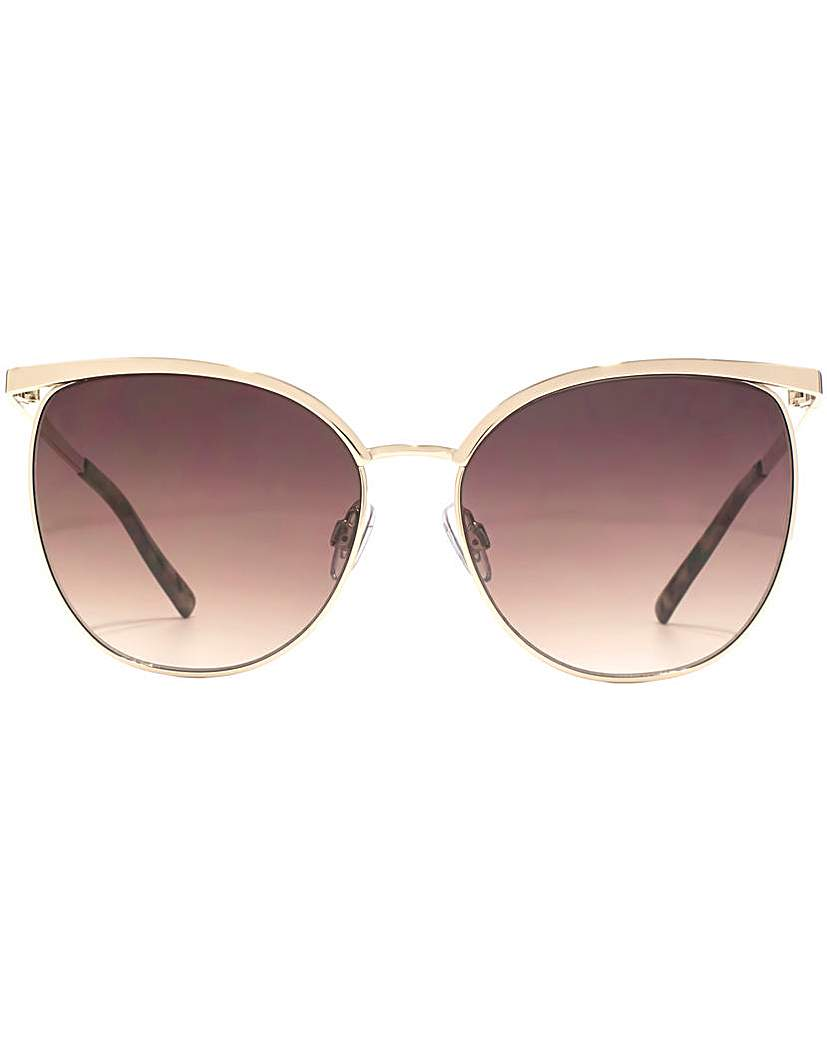 French Connection Glam Metal Sunglasses