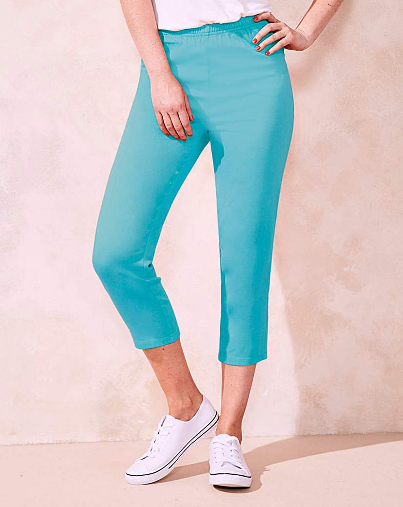 Women's 1960s Style Pants Crop Jeggings £12.00 AT vintagedancer.com