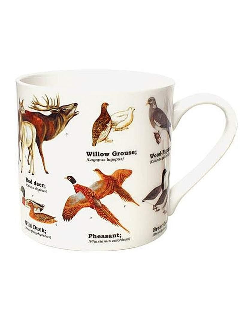 Image of Wild Animals Bone China Mug