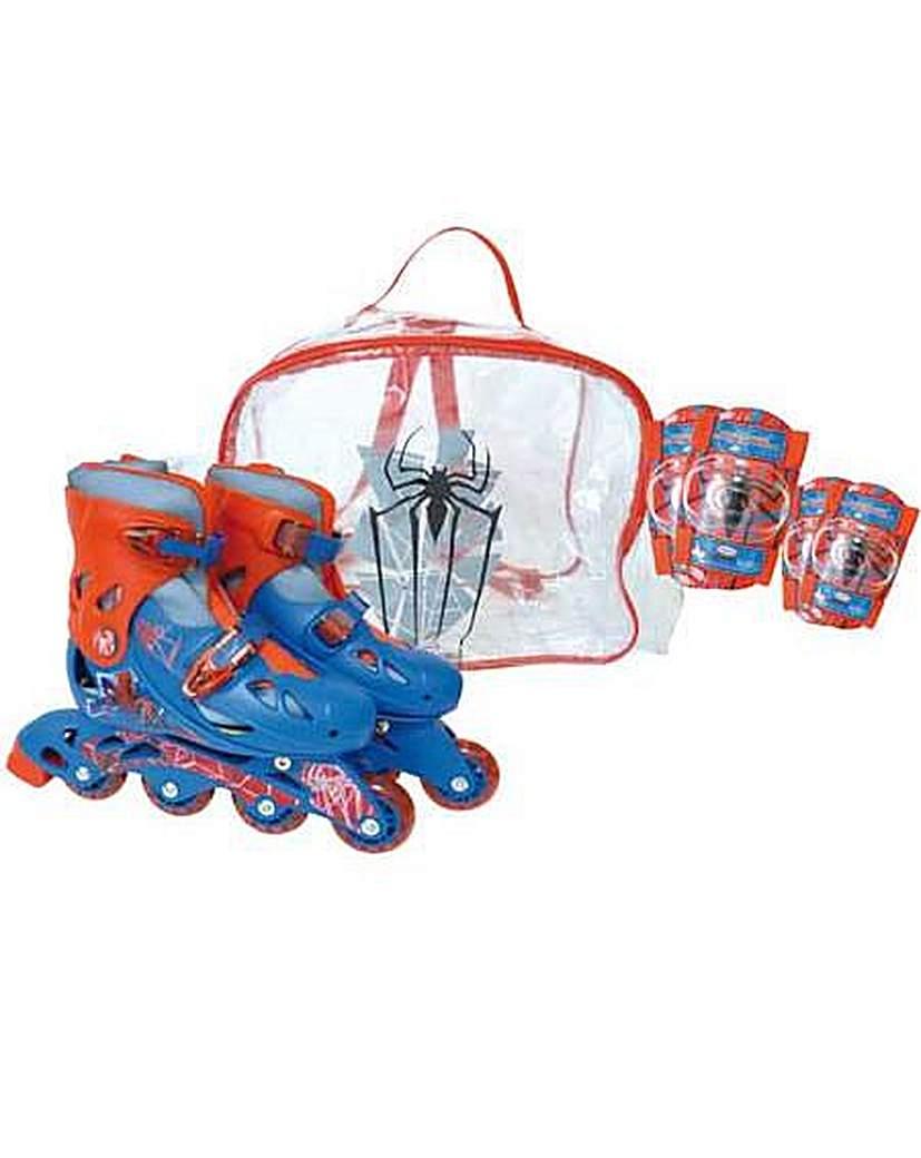Image of Spider-Man Inline Roller Skates Set