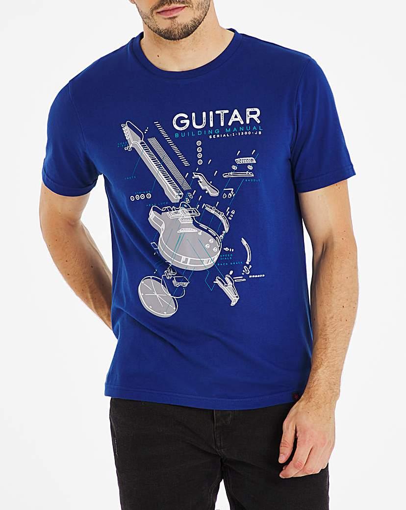 Joe Browns Guitar Station T-shirt Long