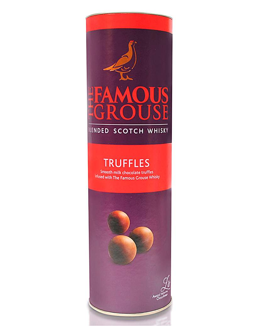 Famous Grouse Whisky Milk Truffles Tube