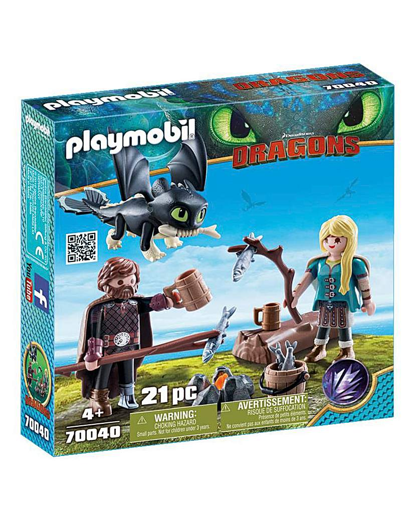 Playmobil 70040 Dragons Hiccup & Astrid