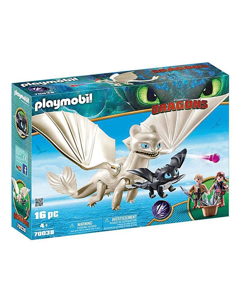 Playmobil 70038 Light Fury & Baby