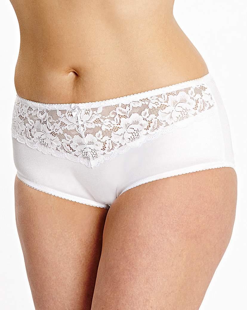 2 Pack Ella Black/White Shorts