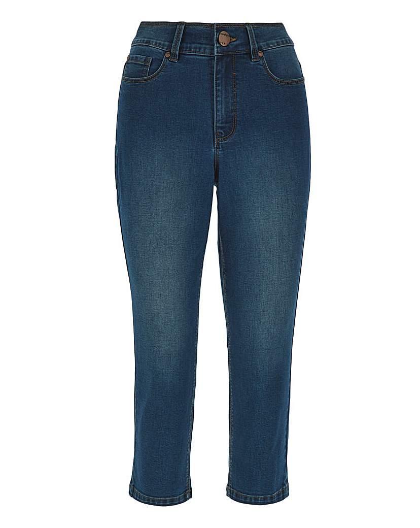 Capsule 24/7 Organic Blue Crop Jeans