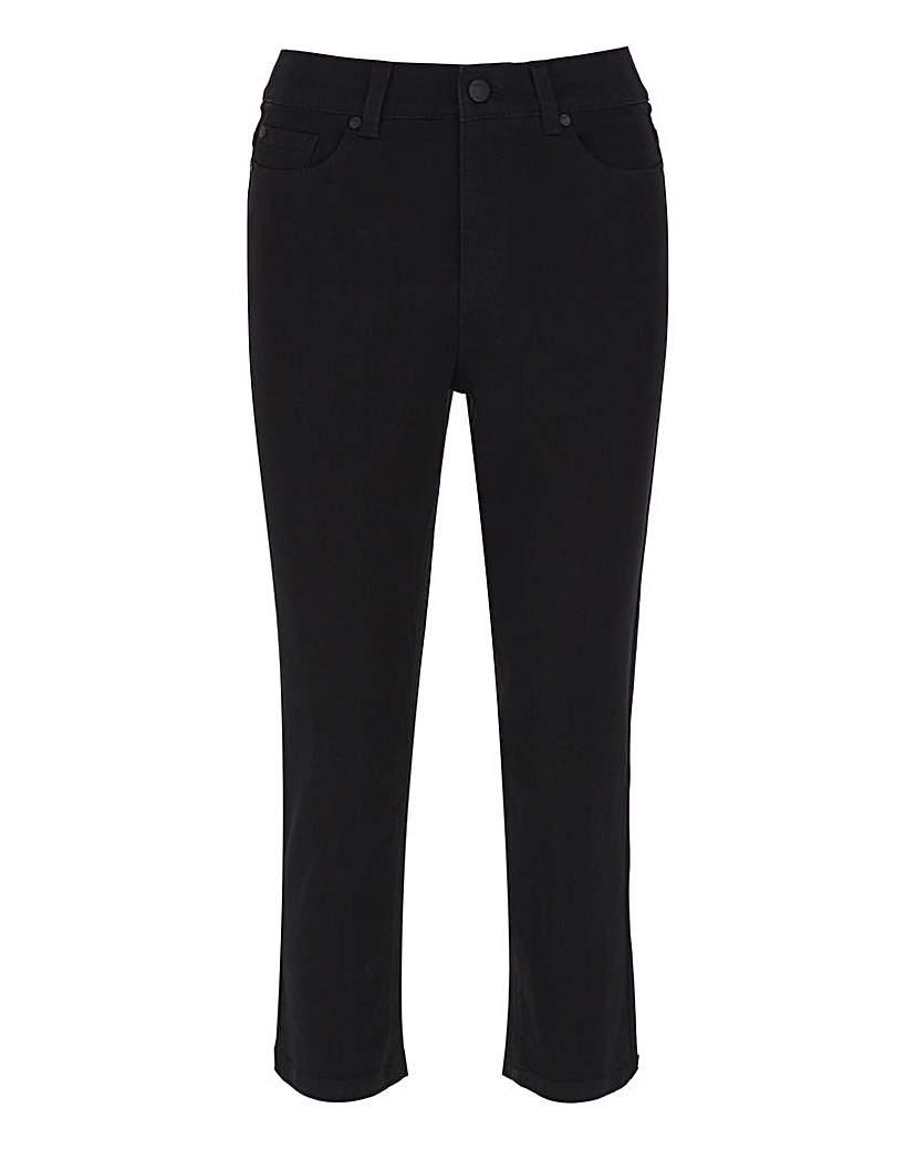 Capsule 24/7 Organic Black Crop Jeans