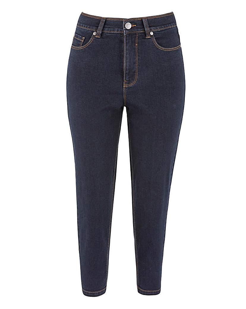 Capsule 24/7 Organic Indigo Crop Jeans