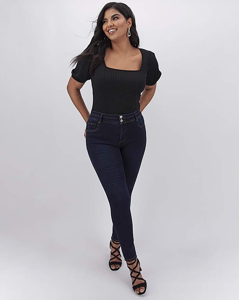 Capsule Indigo Shape & Sculpt Skinny Jeans