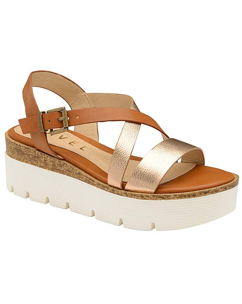 Ravel Layton Flatform Wedge Sandals