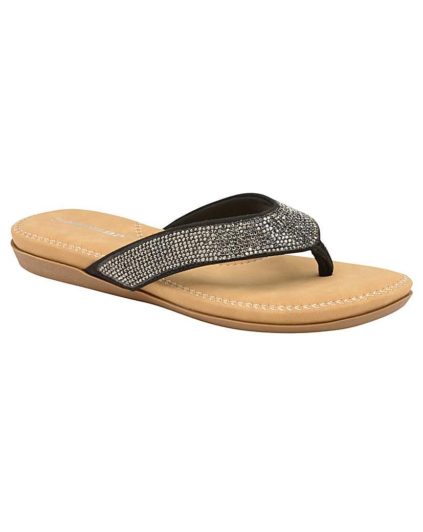 Dunlop Dunlop Eryn women's standard fit sandals