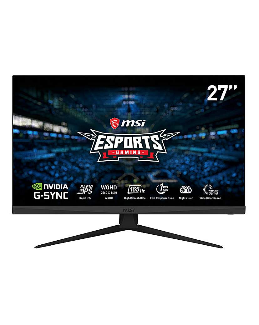 MSI Optix Rapid IPS 27in Monitor