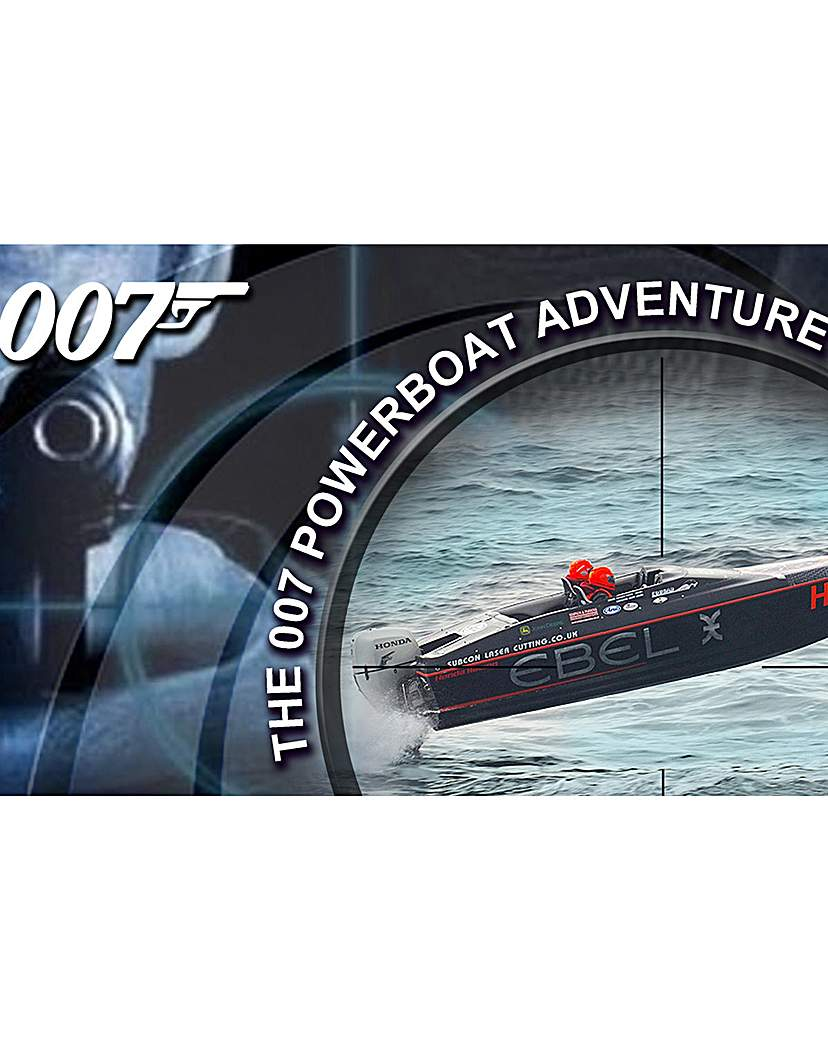 Image of 007 Powerboat and Honda Race Boat