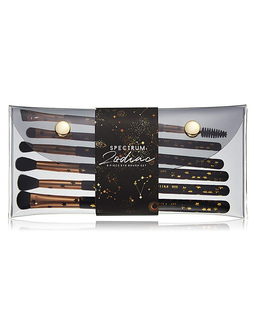 Spectrum Spectrum Zodiac 6 Piece Eye Brush Set