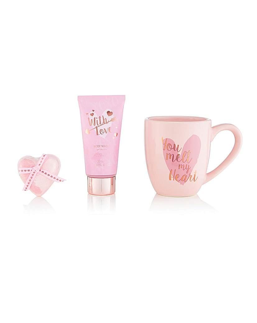 Style and Grace S&G With Love You Melt My Heart Mug Set