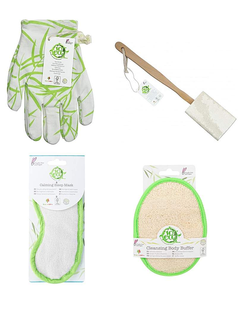 So Eco So Eco Pamper Accessories 4 Piece Pack