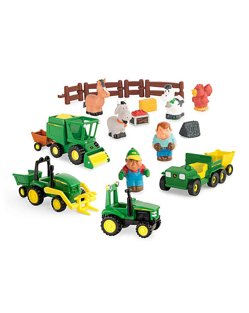 Image of 1st Farming Fun Fun On The Farm Playset