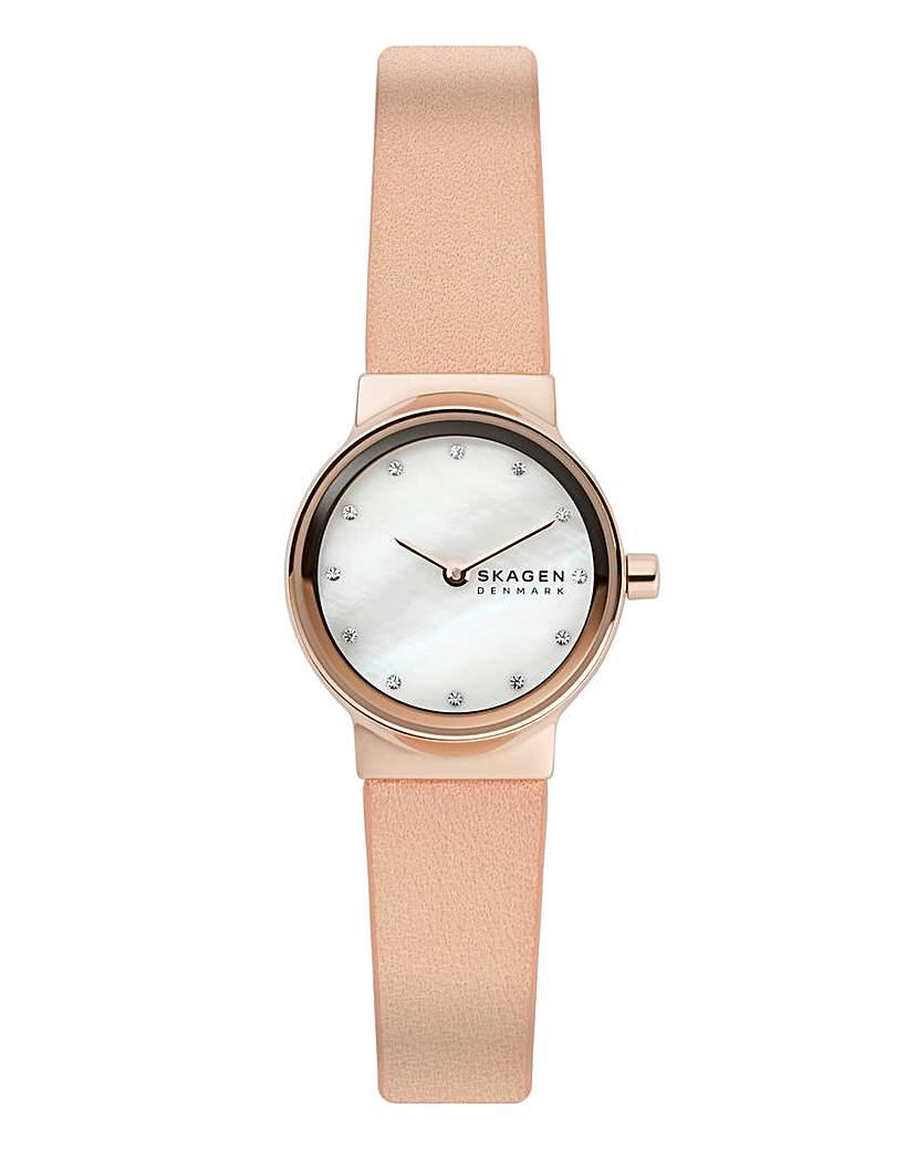 skagen Skagen Ladies Freja Watch & Bracelet Set