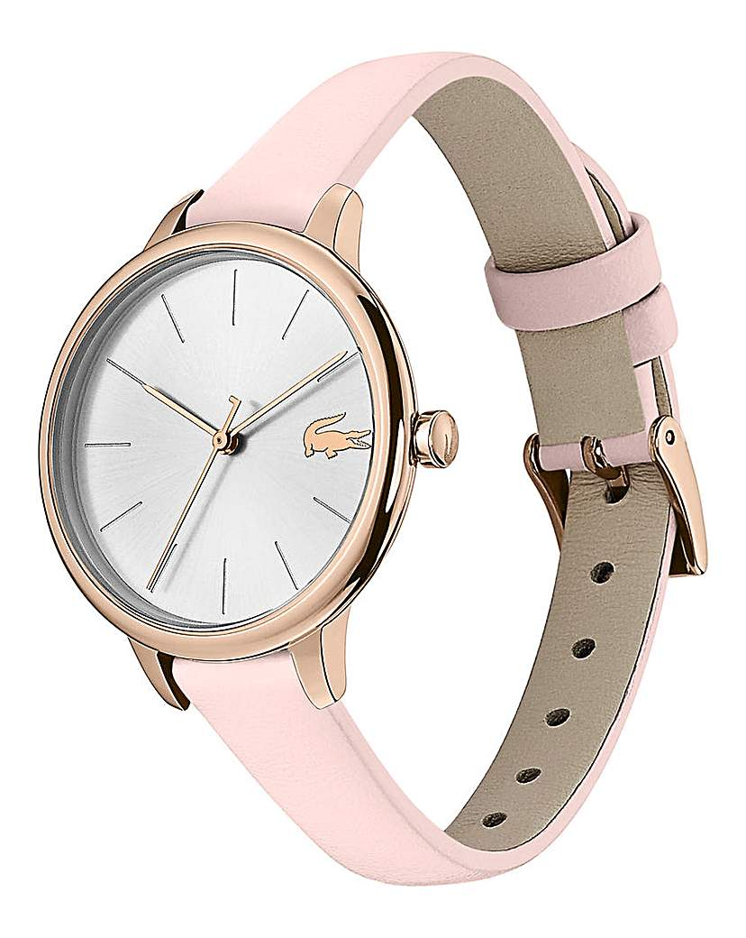 Lacoste Lacoste Ladies Pink Leather Strap Watch