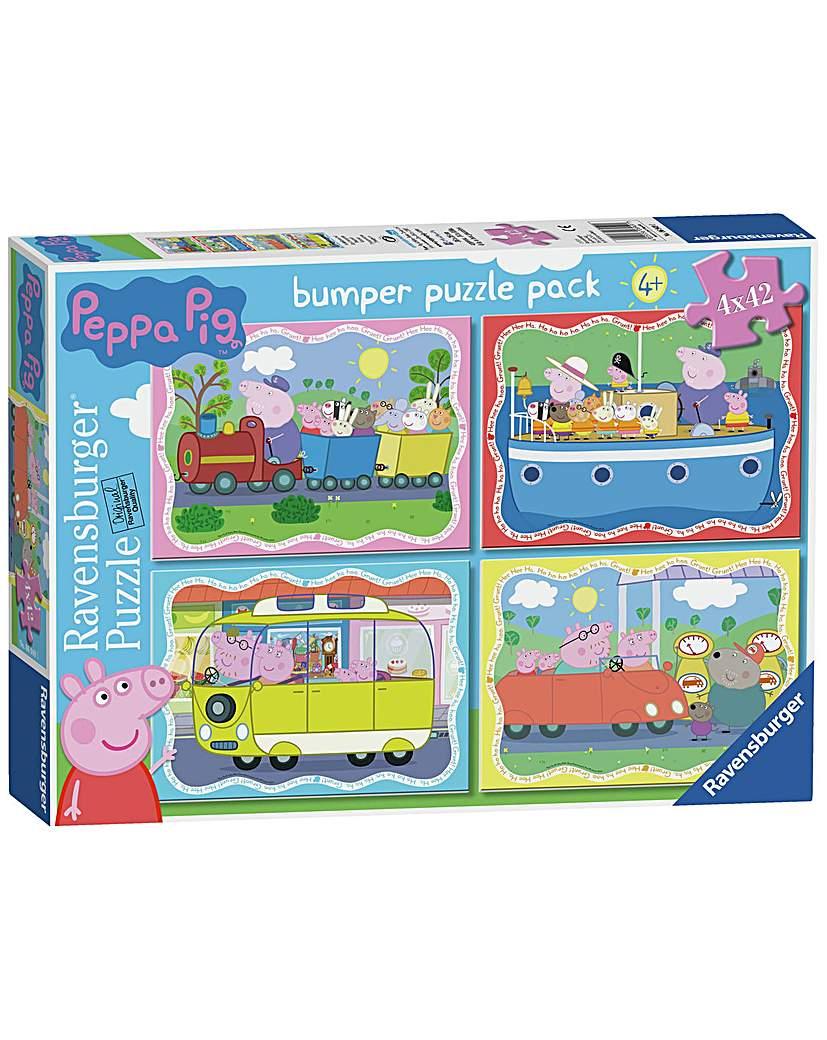 Image of Ravensburger Peppa Pig 42 Piece Puzzle