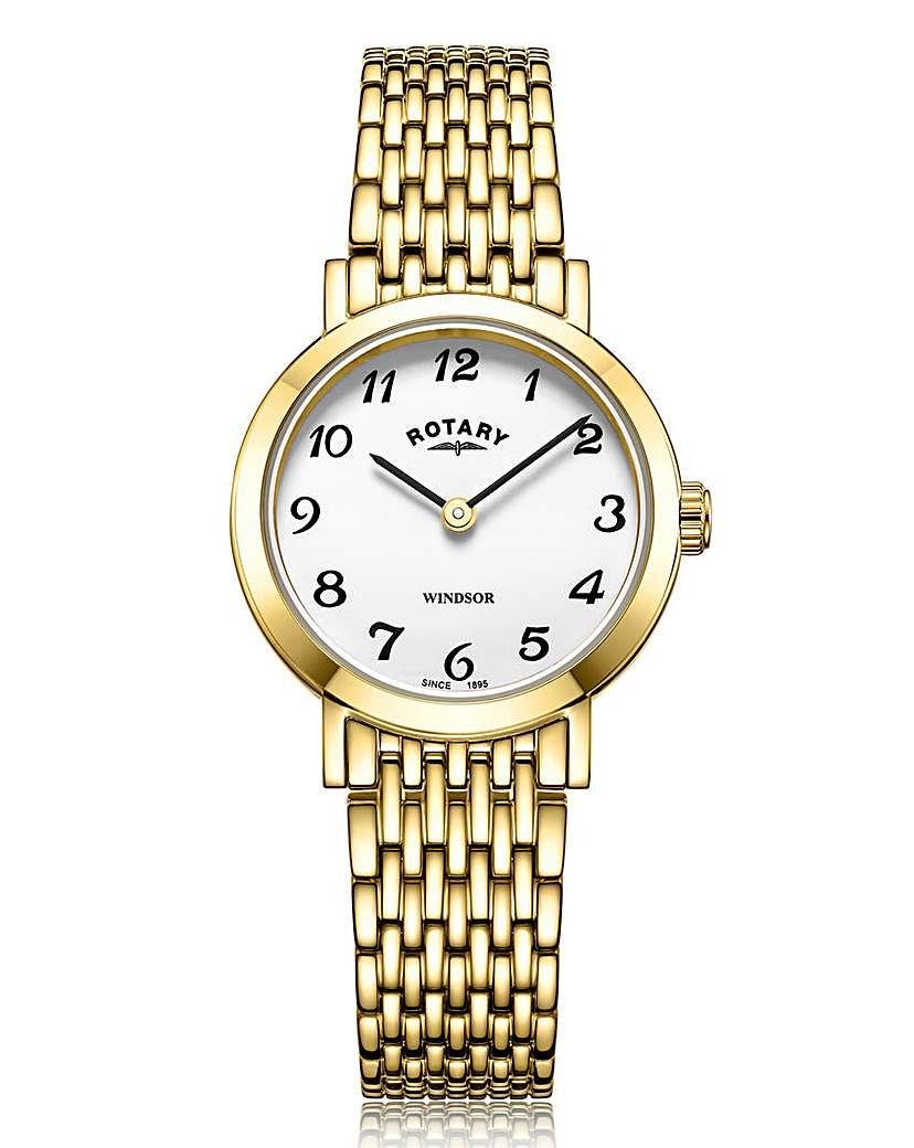 Rotary Rotary Ladies Gold Bracelet Watch