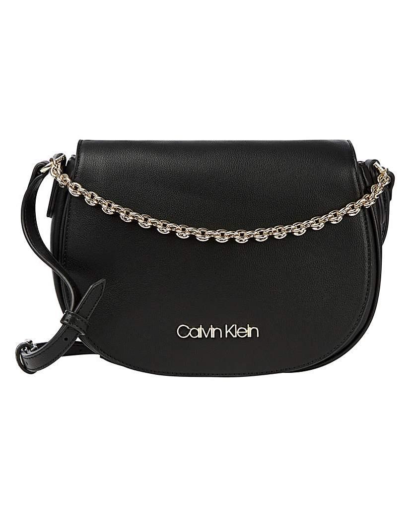 Calvin Klein Calvin Klein Saddle Bag With Chain