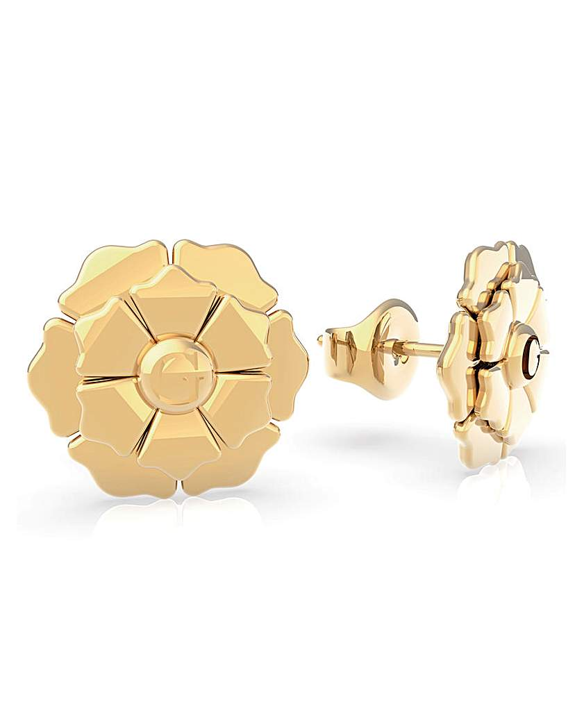 Guess Guess Peony Gold Earrings
