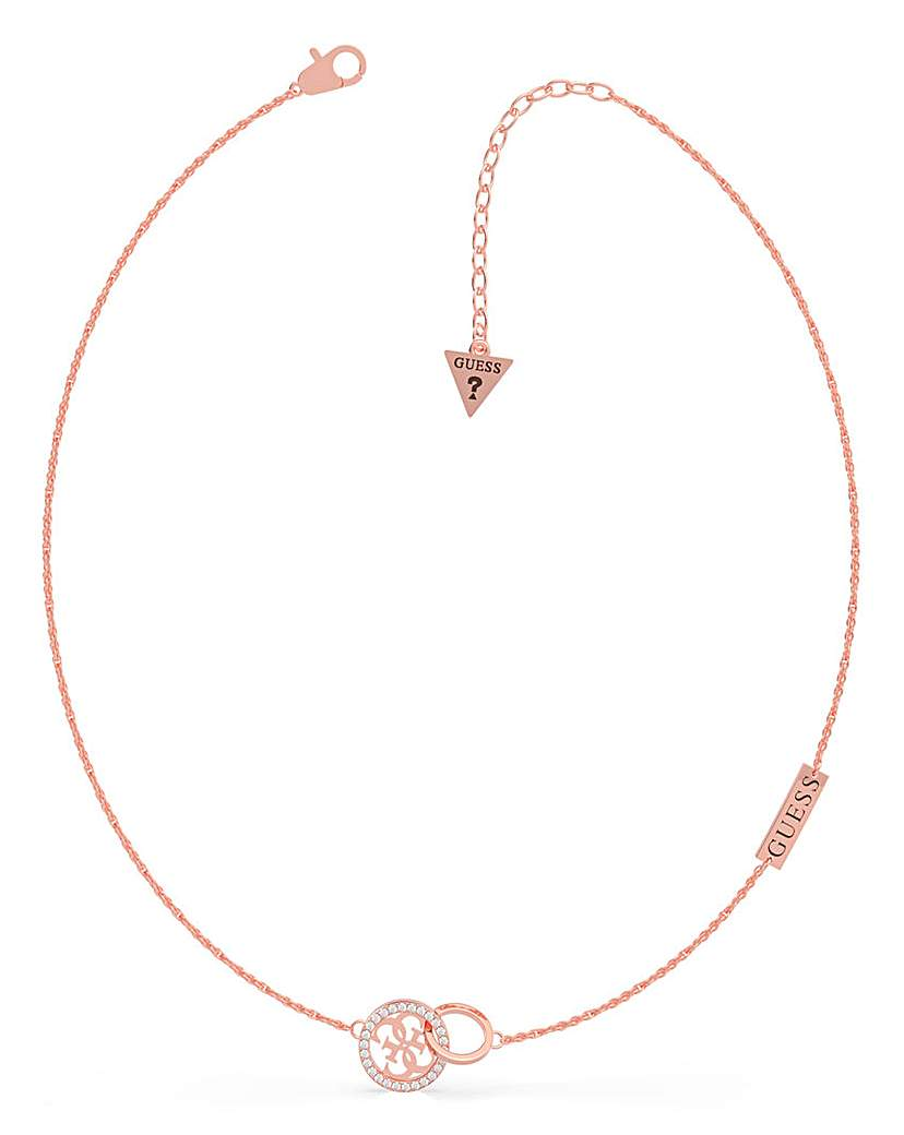 Guess Guess Equilibre Rose Gold Necklace